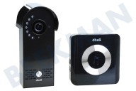 DBell  DB-HD-LIVE-B dbell HD X2- zwart Deurbel Intercom Wifi, Deurbel, Voice indication
