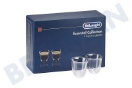 Silvercrest 5513296651 DLSC300  Kopjes Essential collection Set van 6 espresso glazen