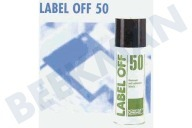 Kontakt Chemie KOC81009  Spray Label Off 50 Krachtige oplosmiddel
