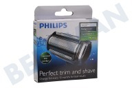 Philips TT2000/43 TT200/43 Scheerapparaat Messenkop TT2000 Bodygroom, replacement foil