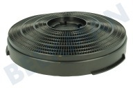 Whirlpool 484000008610 CHF34 Wasemkap Filter koolstof Model 34 -25cm-