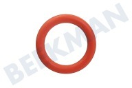 Saeco 996530059399  O-ring Siliconen, rood DM=13mm SUB018
