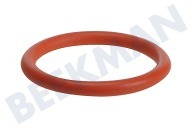 Saeco 996530059406 NM01.044 Espresso O-ring Siliconen, rood DM=40mm SUP018, SUP031