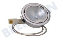 Smeg 824610570 Oven-Magnetron Lamp Spot 20W Halogeen compl. Rand chroom