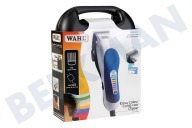Wahl 793001616  Tondeuse Colourpro wit/blauw Incl. koffer