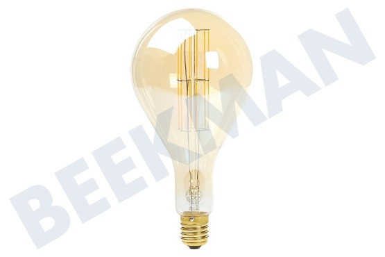 Calex  425622 Calex LED volglas LangFilament Giant Splash Goud 11W E40