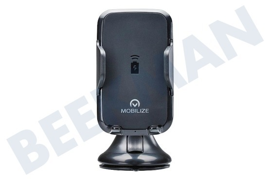 Mobilize  Mobilize Wireless Car Charger Black