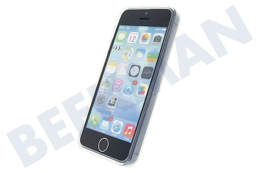 Mobilize  Gelly Case Apple iPhone 5/5S/SE Clear
