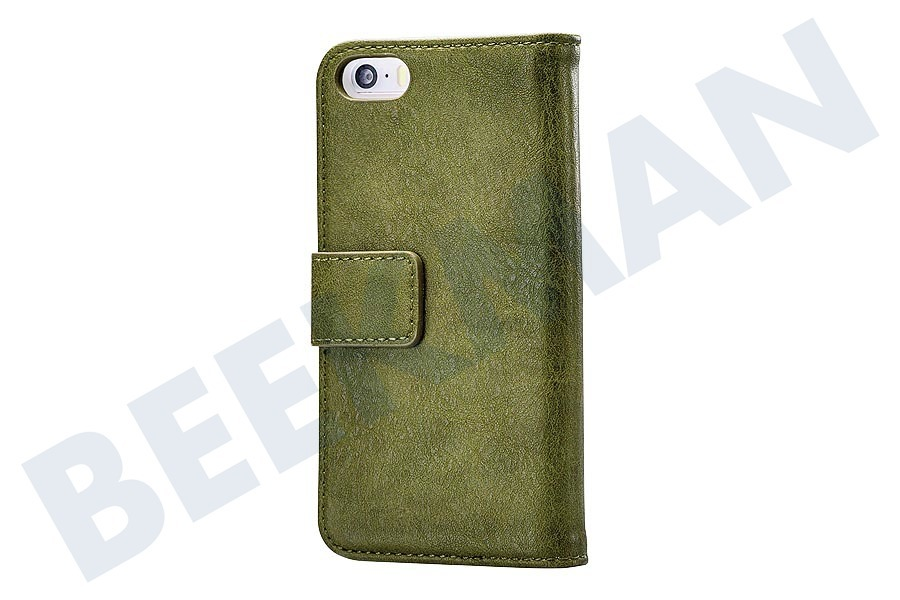 Mobilize  Elite Gelly Wallet Book Case Apple iPhone 5/5S/SE Green