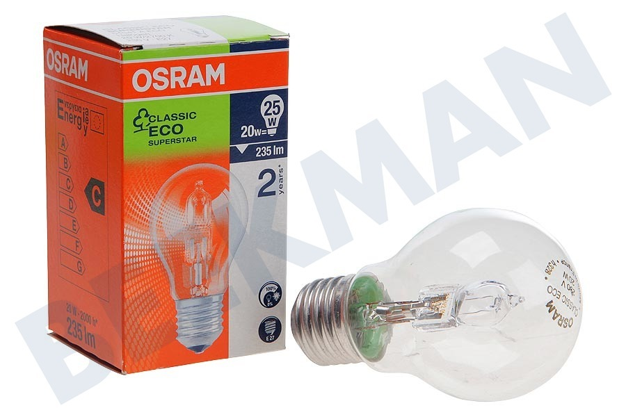 Osram  Halogeenlamp Halogen Classic A 20W