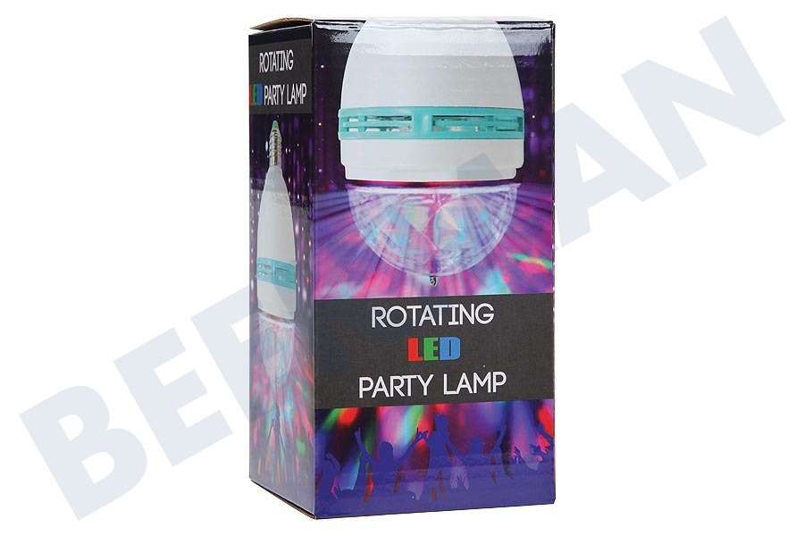 Universeel  Discolamp Roterende LED partylamp, disco lamp