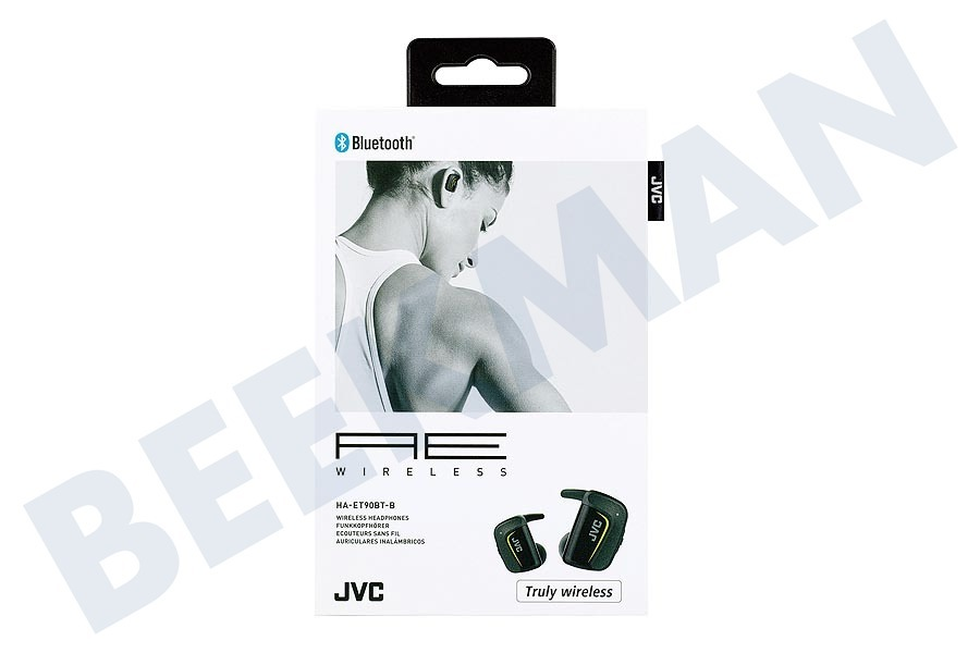 JVC  HA-ET90BT-BE Wireless Sport Headphones Black