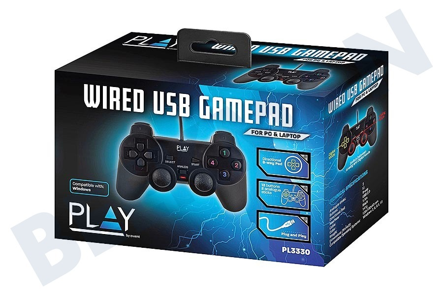 Ewent  PL3330 Wired USB Gamepad