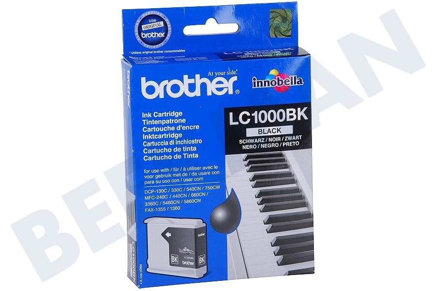 Brother Brother printer Inktcartridge LC 1000 Black