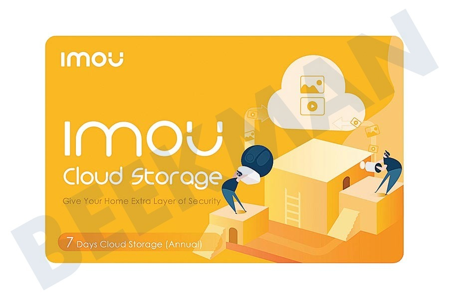 Imou  7 Dagen Cloud Storage